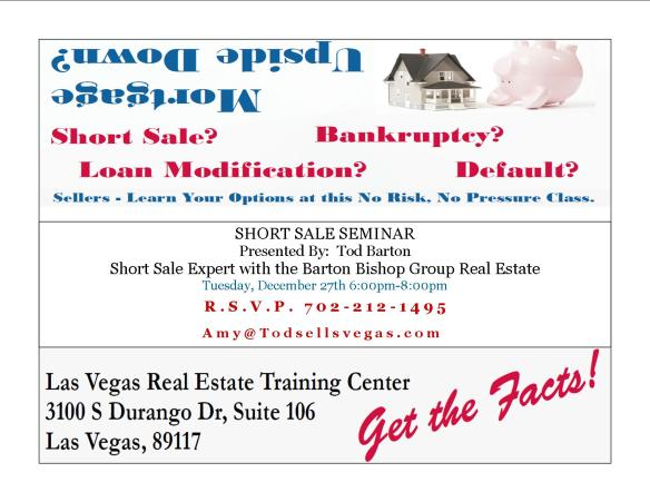 Real estate and financial seminar flyer trend home design and decor